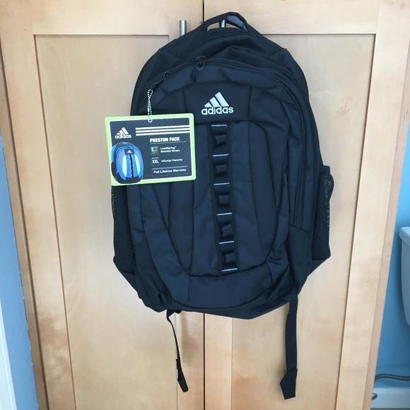 fd0a381d69 Brand New Adidas Black Preston Backpack